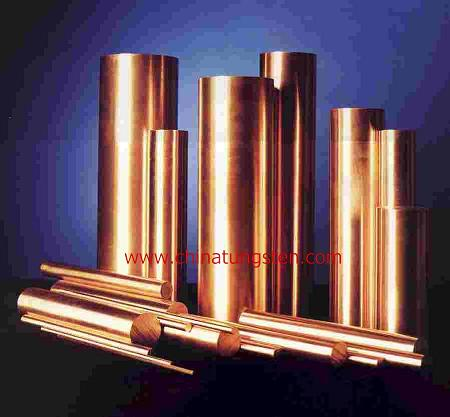 copper tungsten bar