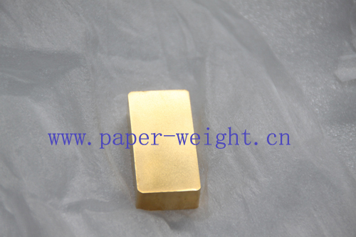 gold plated tungsten alloy bar